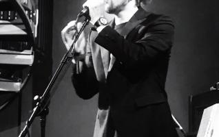 "Elias Ringquist performing ""Stockholm"" at Glashuset WY13"